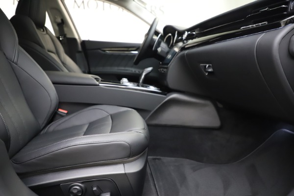New 2020 Maserati Quattroporte S Q4 GranSport for sale $121,885 at Rolls-Royce Motor Cars Greenwich in Greenwich CT 06830 22
