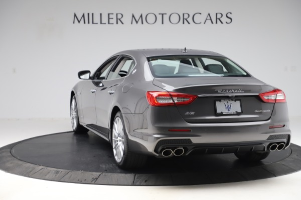 New 2020 Maserati Quattroporte S Q4 GranSport for sale $121,885 at Rolls-Royce Motor Cars Greenwich in Greenwich CT 06830 5