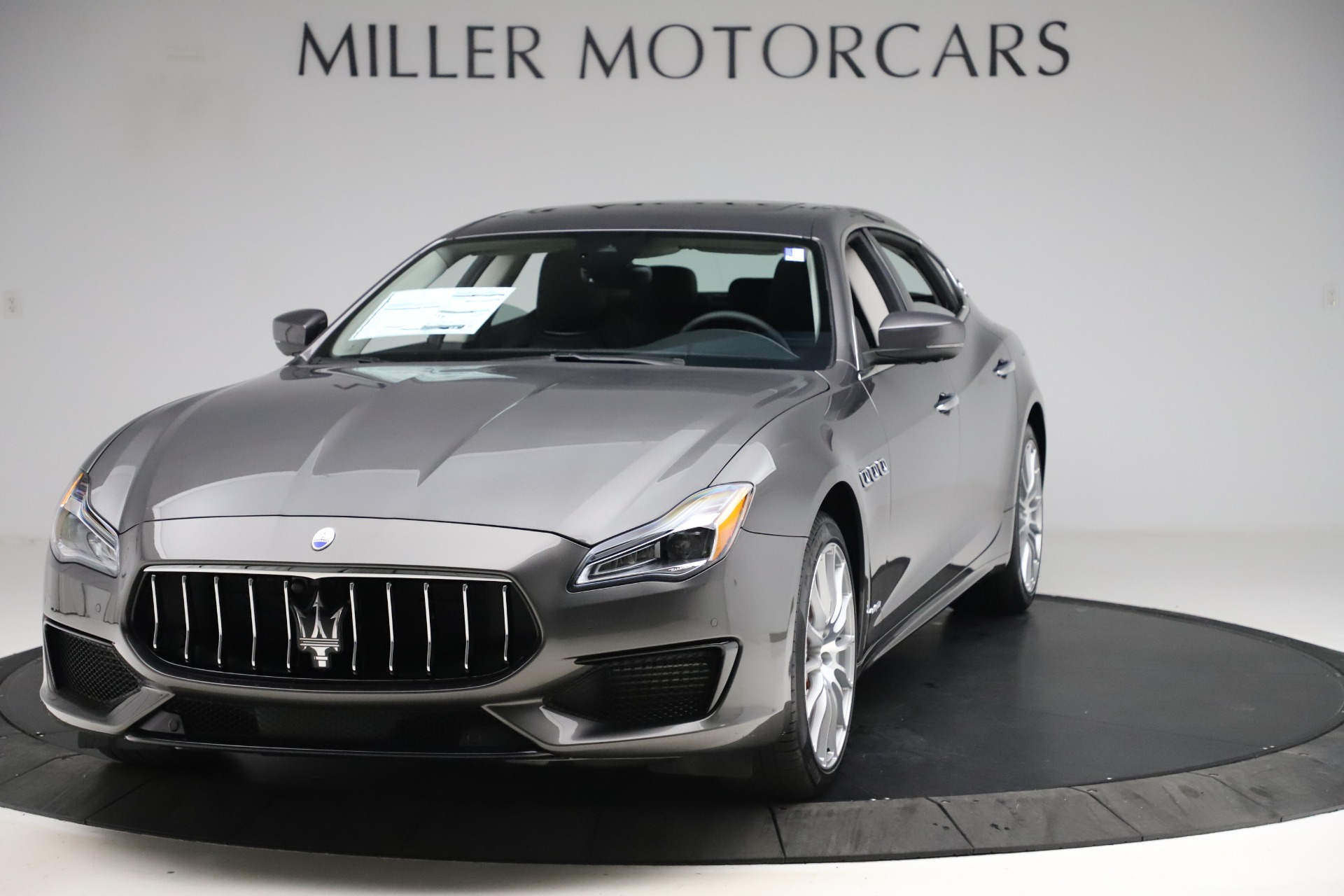 New 2020 Maserati Quattroporte S Q4 GranSport for sale $121,885 at Rolls-Royce Motor Cars Greenwich in Greenwich CT 06830 1