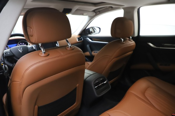 New 2020 Maserati Ghibli S Q4 GranLusso for sale $89,535 at Rolls-Royce Motor Cars Greenwich in Greenwich CT 06830 20