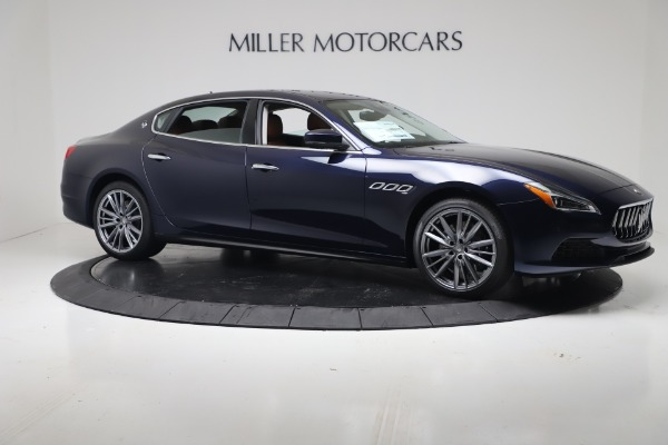 New 2020 Maserati Quattroporte S Q4 GranLusso for sale $122,185 at Rolls-Royce Motor Cars Greenwich in Greenwich CT 06830 10
