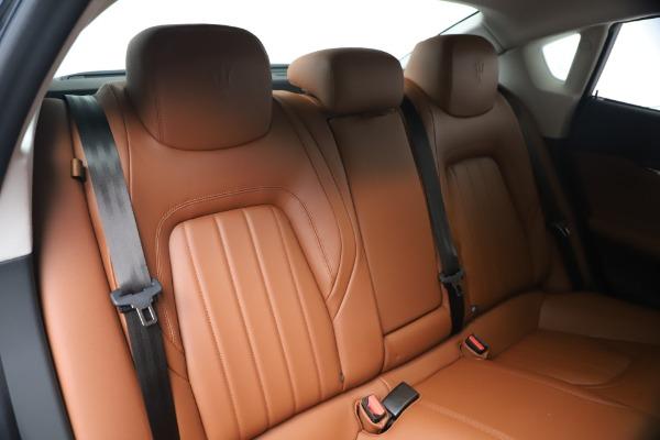 New 2020 Maserati Quattroporte S Q4 GranLusso for sale $122,185 at Rolls-Royce Motor Cars Greenwich in Greenwich CT 06830 20