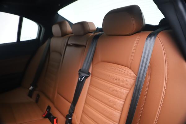 New 2020 Alfa Romeo Giulia Ti Sport Q4 for sale $52,840 at Rolls-Royce Motor Cars Greenwich in Greenwich CT 06830 18
