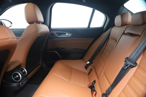 New 2020 Alfa Romeo Giulia Ti Sport Q4 for sale $52,840 at Rolls-Royce Motor Cars Greenwich in Greenwich CT 06830 19