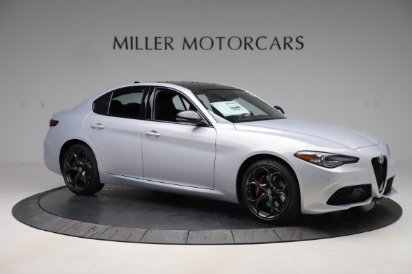 New 2020 Alfa Romeo Giulia Ti Sport Q4 for sale $51,590 at Rolls-Royce Motor Cars Greenwich in Greenwich CT 06830 10