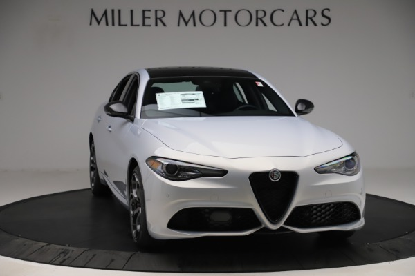 New 2020 Alfa Romeo Giulia Ti Sport Q4 for sale $51,590 at Rolls-Royce Motor Cars Greenwich in Greenwich CT 06830 11