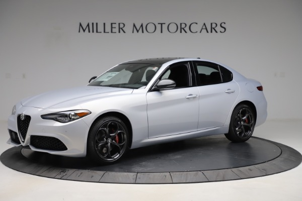 New 2020 Alfa Romeo Giulia Ti Sport Q4 for sale $51,590 at Rolls-Royce Motor Cars Greenwich in Greenwich CT 06830 2
