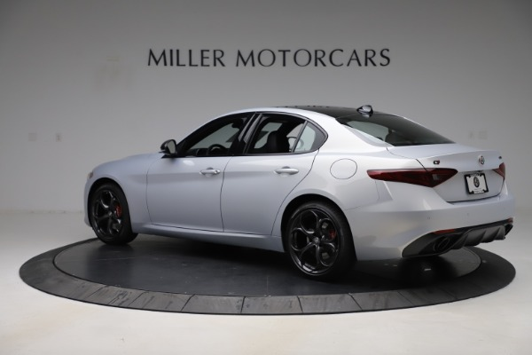 New 2020 Alfa Romeo Giulia Ti Sport Q4 for sale $51,590 at Rolls-Royce Motor Cars Greenwich in Greenwich CT 06830 4