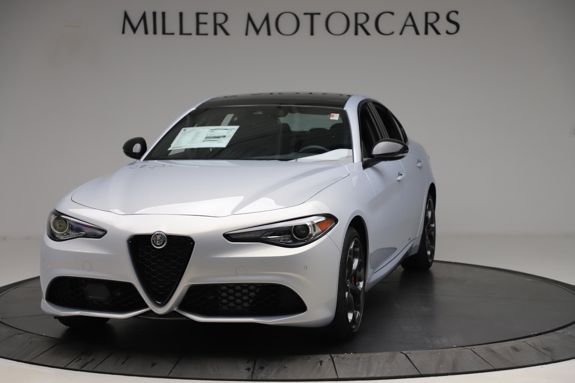 New 2020 Alfa Romeo Giulia Ti Sport Q4 for sale $51,590 at Rolls-Royce Motor Cars Greenwich in Greenwich CT 06830 1