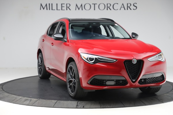 New 2020 Alfa Romeo Stelvio Sport Q4 for sale $50,190 at Rolls-Royce Motor Cars Greenwich in Greenwich CT 06830 11