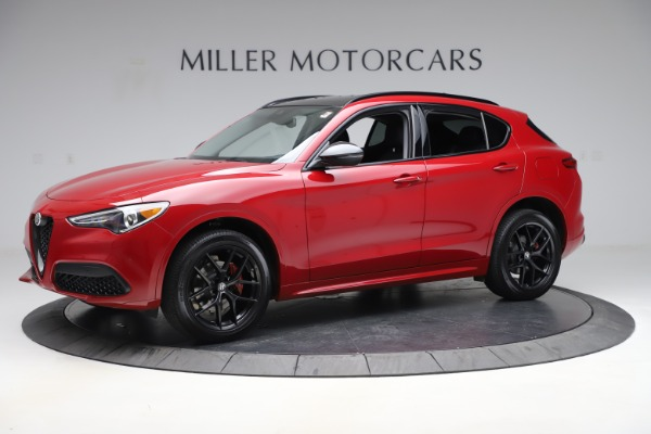 New 2020 Alfa Romeo Stelvio Sport Q4 for sale $50,190 at Rolls-Royce Motor Cars Greenwich in Greenwich CT 06830 2