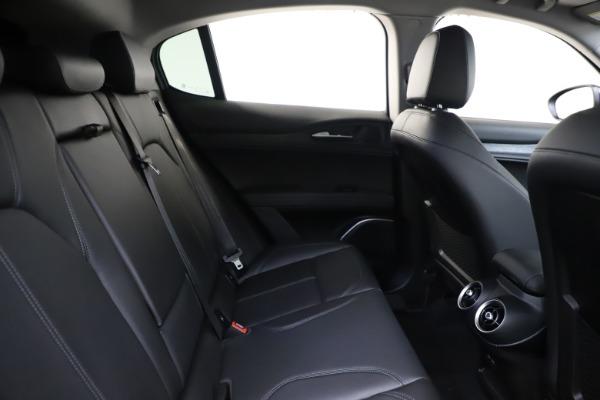 New 2020 Alfa Romeo Stelvio Sport Q4 for sale Sold at Rolls-Royce Motor Cars Greenwich in Greenwich CT 06830 27