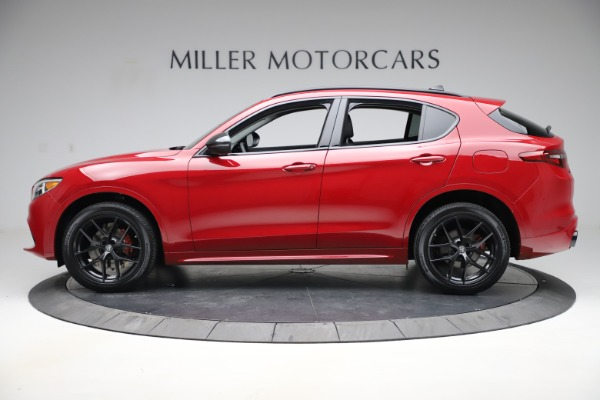 New 2020 Alfa Romeo Stelvio Sport Q4 for sale $50,190 at Rolls-Royce Motor Cars Greenwich in Greenwich CT 06830 3