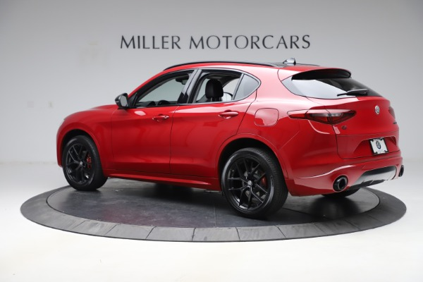 New 2020 Alfa Romeo Stelvio Sport Q4 for sale $50,190 at Rolls-Royce Motor Cars Greenwich in Greenwich CT 06830 4