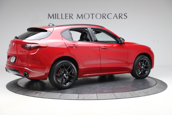 New 2020 Alfa Romeo Stelvio Sport Q4 for sale $50,190 at Rolls-Royce Motor Cars Greenwich in Greenwich CT 06830 8