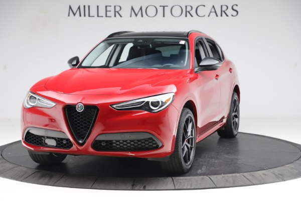 New 2020 Alfa Romeo Stelvio Sport Q4 for sale $50,190 at Rolls-Royce Motor Cars Greenwich in Greenwich CT 06830 1
