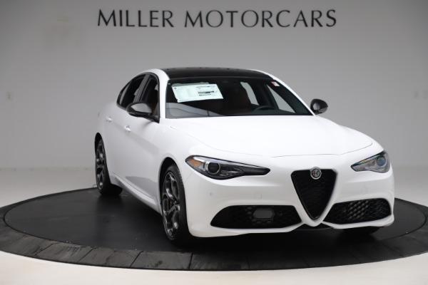 New 2020 Alfa Romeo Giulia Ti Sport Q4 for sale $53,190 at Rolls-Royce Motor Cars Greenwich in Greenwich CT 06830 11