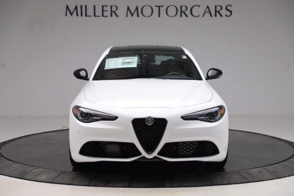 New 2020 Alfa Romeo Giulia Ti Sport Q4 for sale $53,190 at Rolls-Royce Motor Cars Greenwich in Greenwich CT 06830 12