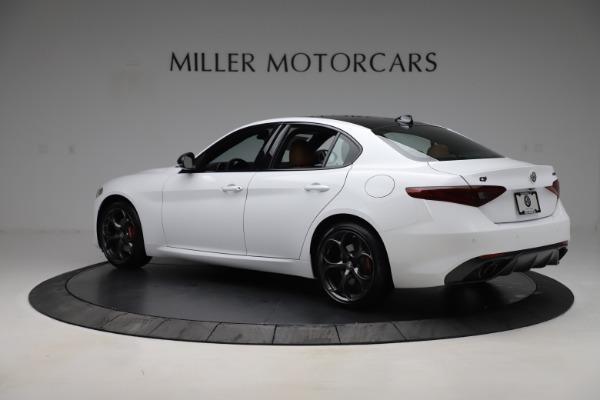 New 2020 Alfa Romeo Giulia Ti Sport Q4 for sale $53,190 at Rolls-Royce Motor Cars Greenwich in Greenwich CT 06830 4