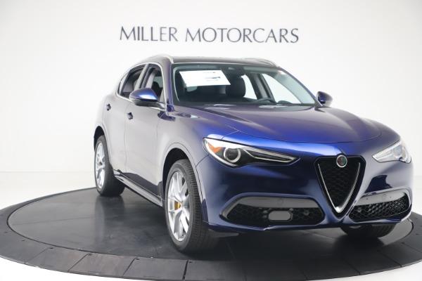New 2020 Alfa Romeo Stelvio Ti Q4 for sale $54,340 at Rolls-Royce Motor Cars Greenwich in Greenwich CT 06830 11