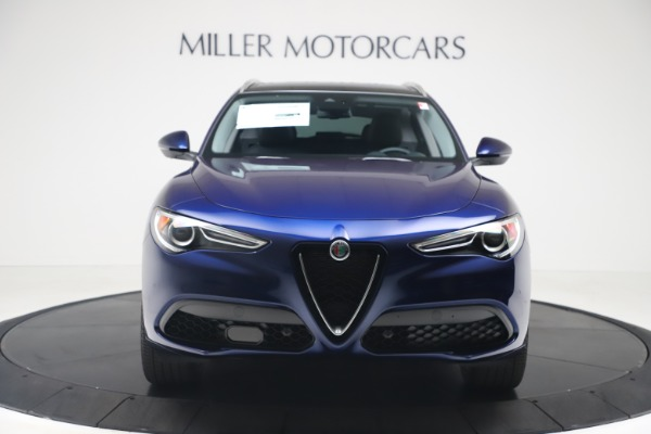 New 2020 Alfa Romeo Stelvio Ti Q4 for sale $54,340 at Rolls-Royce Motor Cars Greenwich in Greenwich CT 06830 12