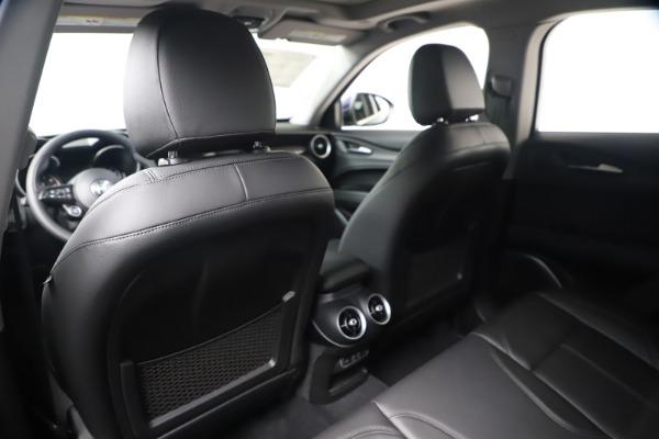 New 2020 Alfa Romeo Stelvio Ti Q4 for sale $54,340 at Rolls-Royce Motor Cars Greenwich in Greenwich CT 06830 20