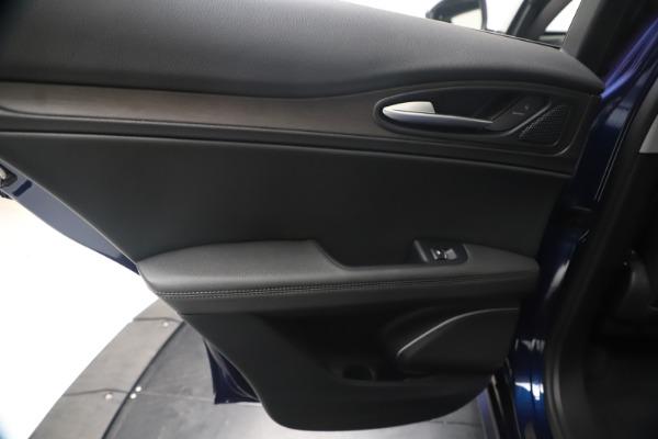 New 2020 Alfa Romeo Stelvio Ti Q4 for sale $54,340 at Rolls-Royce Motor Cars Greenwich in Greenwich CT 06830 21