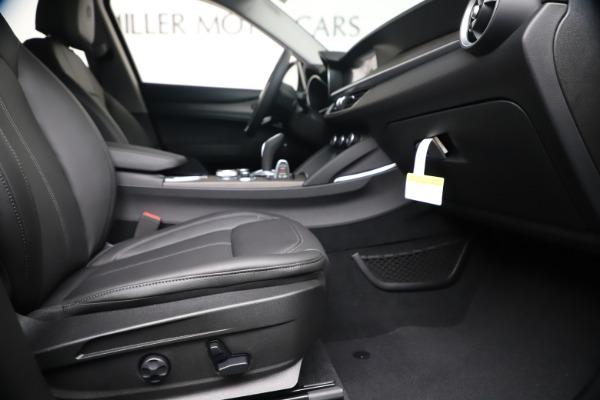 New 2020 Alfa Romeo Stelvio Ti Q4 for sale $54,340 at Rolls-Royce Motor Cars Greenwich in Greenwich CT 06830 23