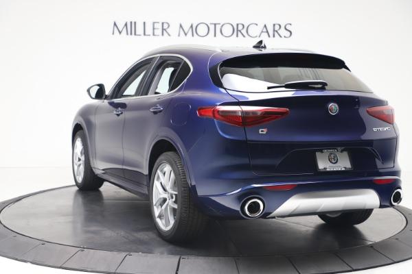 New 2020 Alfa Romeo Stelvio Ti Q4 for sale $54,340 at Rolls-Royce Motor Cars Greenwich in Greenwich CT 06830 5