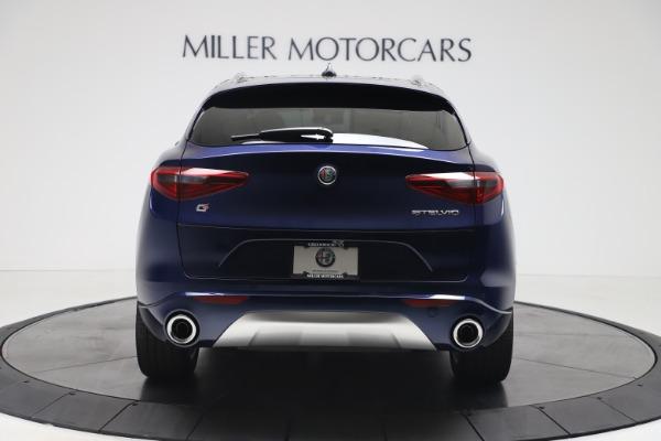 New 2020 Alfa Romeo Stelvio Ti Q4 for sale $54,340 at Rolls-Royce Motor Cars Greenwich in Greenwich CT 06830 6