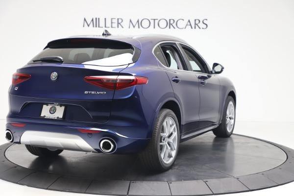 New 2020 Alfa Romeo Stelvio Ti Q4 for sale $54,340 at Rolls-Royce Motor Cars Greenwich in Greenwich CT 06830 7