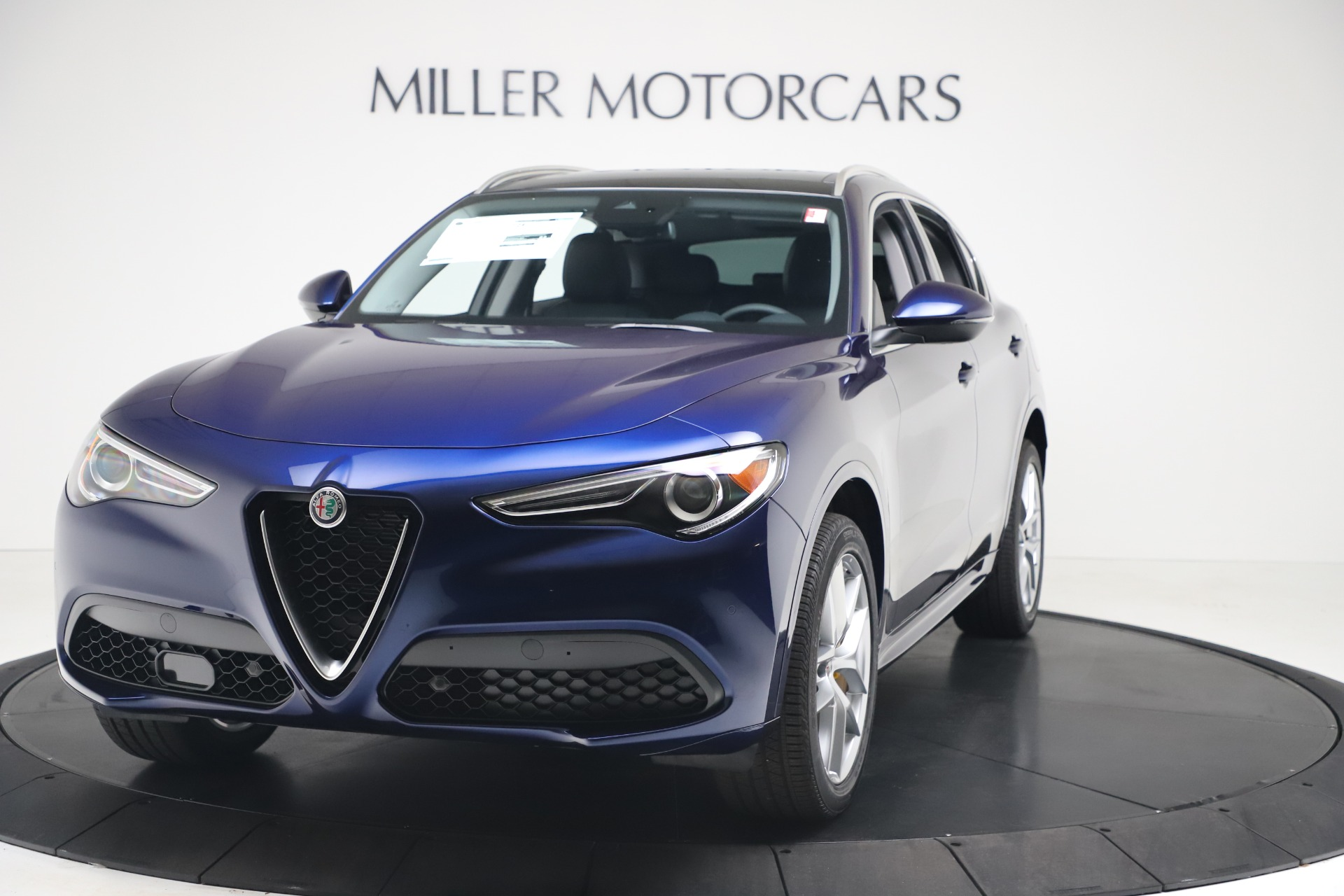 New 2020 Alfa Romeo Stelvio Ti Q4 for sale $54,340 at Rolls-Royce Motor Cars Greenwich in Greenwich CT 06830 1