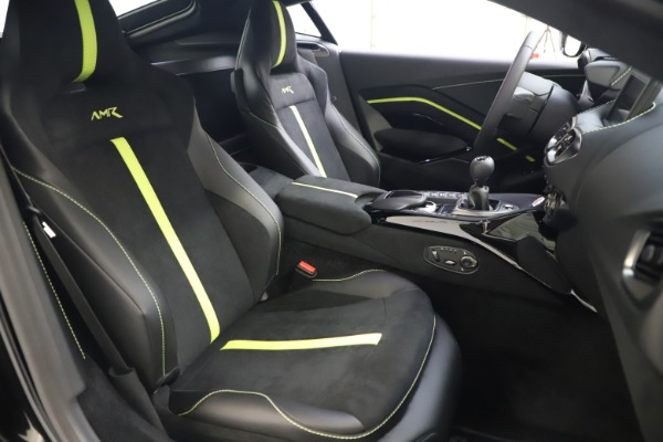 New 2020 Aston Martin Vantage AMR Coupe for sale $191,931 at Rolls-Royce Motor Cars Greenwich in Greenwich CT 06830 19