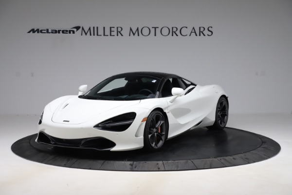 Used 2020 McLaren 720S Spider Convertible for sale $299,900 at Rolls-Royce Motor Cars Greenwich in Greenwich CT 06830 13
