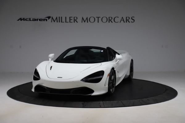 Used 2020 McLaren 720S Spider Convertible for sale $299,900 at Rolls-Royce Motor Cars Greenwich in Greenwich CT 06830 2