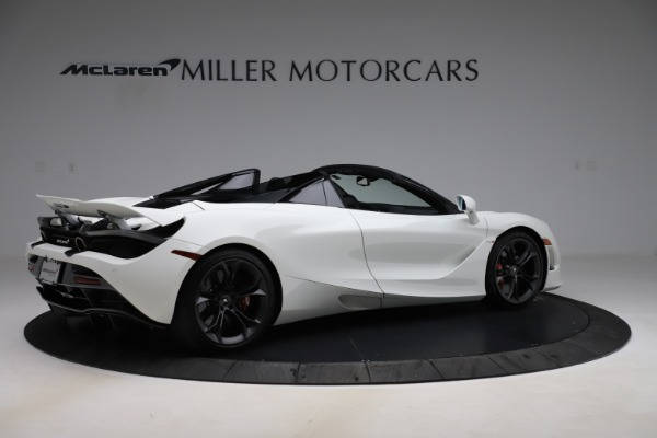 Used 2020 McLaren 720S Spider Convertible for sale $299,900 at Rolls-Royce Motor Cars Greenwich in Greenwich CT 06830 7