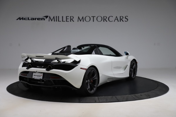 Used 2020 McLaren 720S Spider Convertible for sale $299,900 at Rolls-Royce Motor Cars Greenwich in Greenwich CT 06830 8