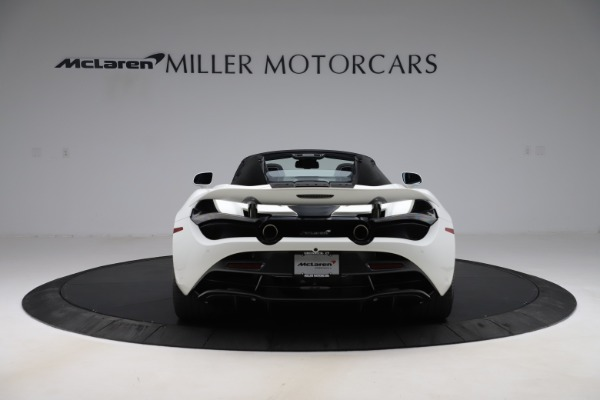 Used 2020 McLaren 720S Spider Convertible for sale $299,900 at Rolls-Royce Motor Cars Greenwich in Greenwich CT 06830 9
