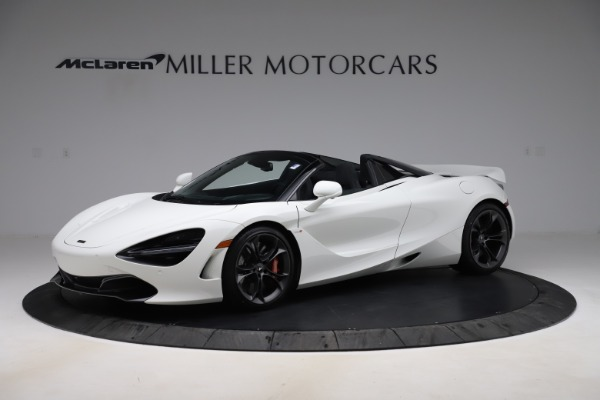 Used 2020 McLaren 720S Spider Convertible for sale $299,900 at Rolls-Royce Motor Cars Greenwich in Greenwich CT 06830 1