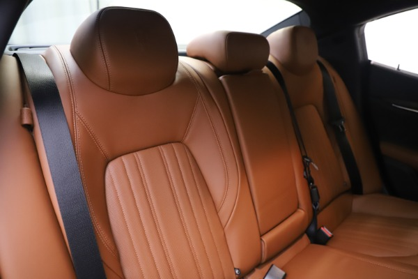 New 2019 Maserati Ghibli S Q4 GranLusso for sale $98,095 at Rolls-Royce Motor Cars Greenwich in Greenwich CT 06830 26