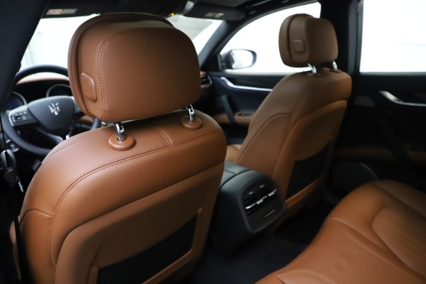 New 2019 Maserati Ghibli S Q4 GranLusso for sale $98,095 at Rolls-Royce Motor Cars Greenwich in Greenwich CT 06830 20