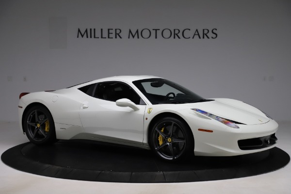 Used 2013 Ferrari 458 Italia for sale $186,900 at Rolls-Royce Motor Cars Greenwich in Greenwich CT 06830 10