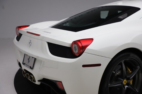 Used 2013 Ferrari 458 Italia for sale $186,900 at Rolls-Royce Motor Cars Greenwich in Greenwich CT 06830 26