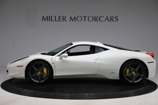 Used 2013 Ferrari 458 Italia for sale $186,900 at Rolls-Royce Motor Cars Greenwich in Greenwich CT 06830 3