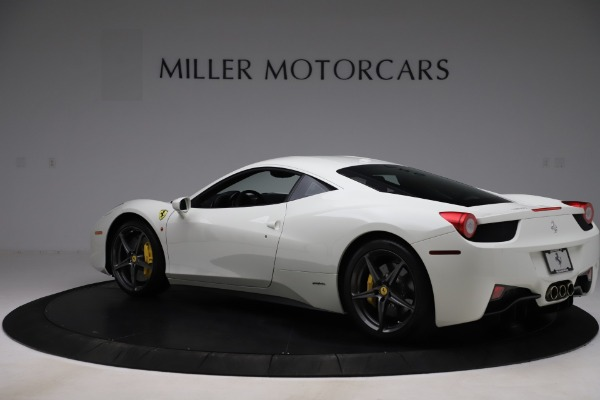 Used 2013 Ferrari 458 Italia for sale $186,900 at Rolls-Royce Motor Cars Greenwich in Greenwich CT 06830 4