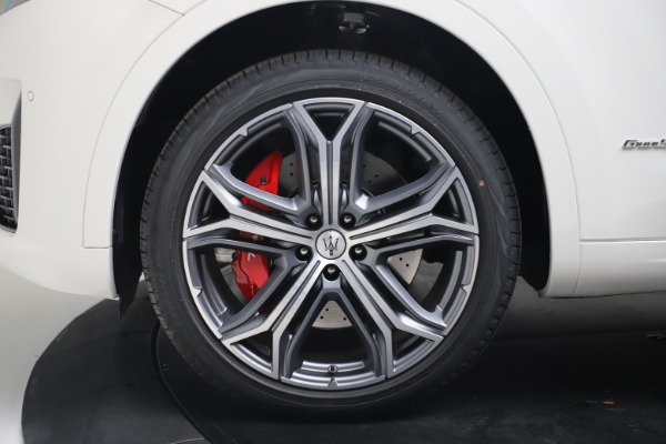 New 2020 Maserati Levante S Q4 GranSport for sale $101,085 at Rolls-Royce Motor Cars Greenwich in Greenwich CT 06830 16