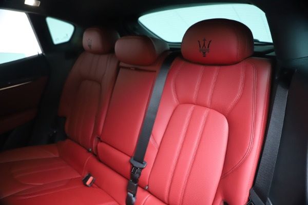 New 2020 Maserati Levante S Q4 GranSport for sale $101,085 at Rolls-Royce Motor Cars Greenwich in Greenwich CT 06830 22
