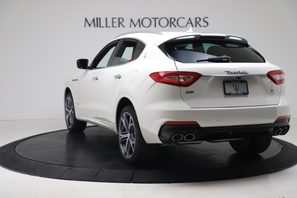 New 2020 Maserati Levante S Q4 GranSport for sale $101,085 at Rolls-Royce Motor Cars Greenwich in Greenwich CT 06830 5