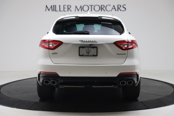 New 2020 Maserati Levante S Q4 GranSport for sale $101,085 at Rolls-Royce Motor Cars Greenwich in Greenwich CT 06830 6