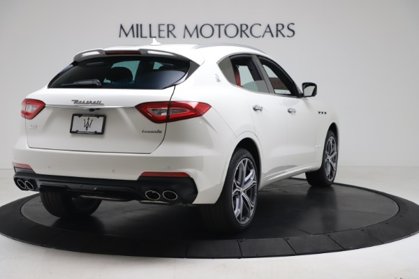 New 2020 Maserati Levante S Q4 GranSport for sale $101,085 at Rolls-Royce Motor Cars Greenwich in Greenwich CT 06830 7
